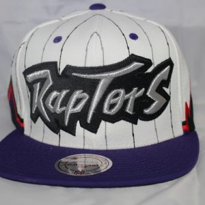 Mitchell & Ness NBA Toronto Raptors 2T 1995 Uniform Home Snapback Cap