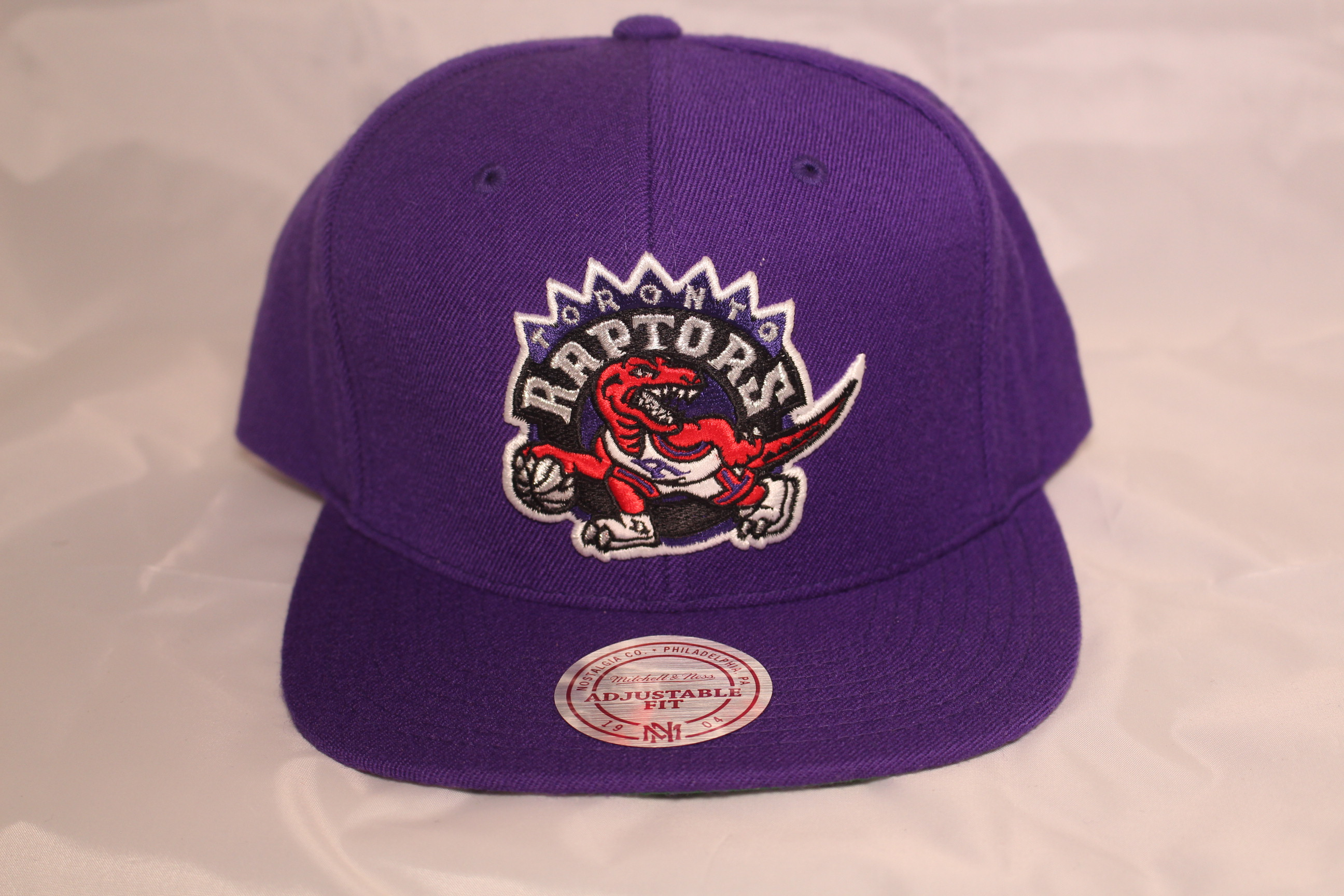 the best attitude 7e3a2 d098b Mitchell and Ness Toronto Raptors Snapback NBA Wool Solid 1995 Logo Cap.   44.99. Out of stock. prev