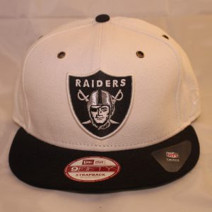New Era Cap 9Fifty NFL Oakland Raiders Leather Strapback cap