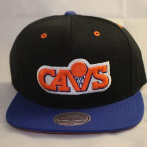 An 80's classic is this Mitchell and Ness Cleveland Cavs 2 Tone Snapback Cap. Relive the days of Brad Daugherty, Mark Price and Larry Nance with this classic lid.