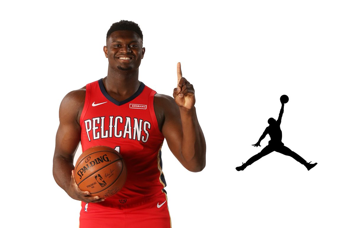 mamífero Aparador Espinoso  Air Zion: Zion Williamson Signs with Jordan Brand - NeverDated